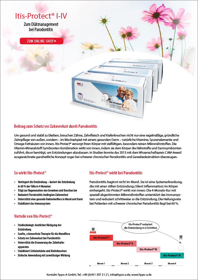 Itis-Protect® bei Praodontitis