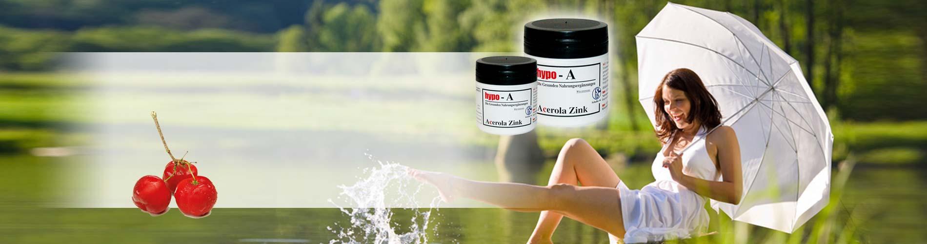 Immunsystem unterstützen mit Acerola-Zink